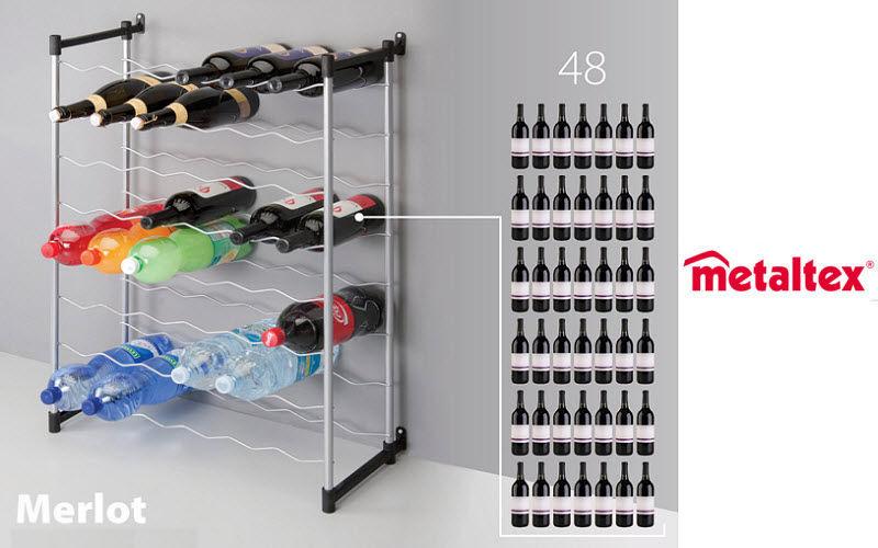 Metaltex Flaschenregal Regale und Ablagen Küchenausstattung  |