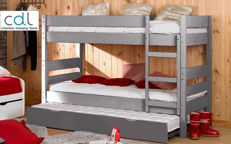 CDL Chambre-dressing-literie.com Etagenbett Einzelbett Betten  |