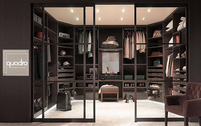 Quadro Dressing in U Ankleidezimmer Garderobe  |