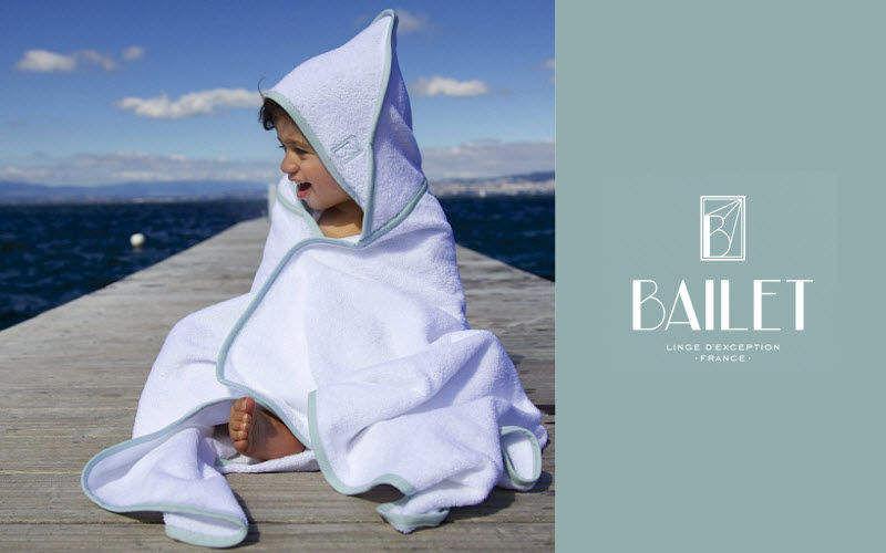 BAILET Badecape Bad- und Toilettenartikel für Kinder Kinderecke   