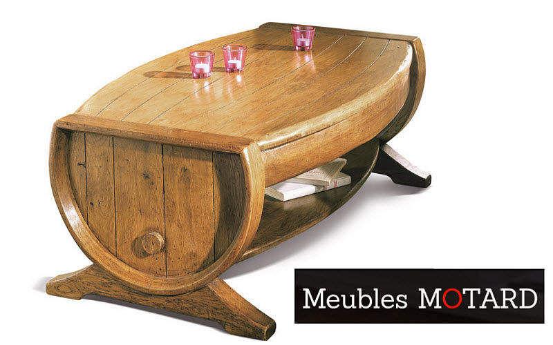 Antoine Motard Couchtisch mit Regal Couchtische Tisch  | Unkonventionell