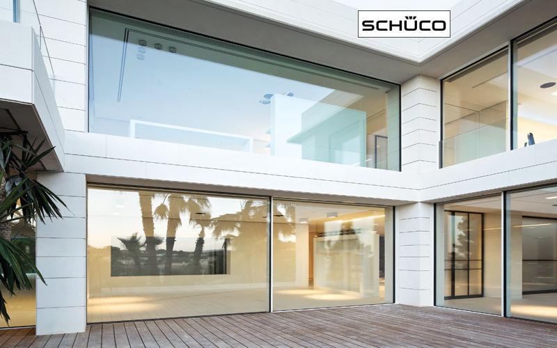 Schüco France Schiebeglasfensterfront Balkon-/Terrassentüren Fenster & Türen Terrasse |