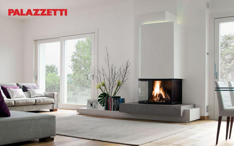 Palazzetti Geschlossener Kamin Kamine Kamin Wohnzimmer-Bar | Design Modern