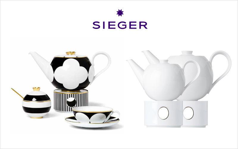 SIEGER Teekanne Kaffee- und Teekannen Geschirr  |