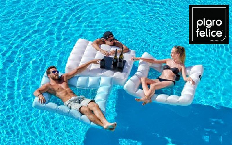 PIGRO FELICE Schwimmsessel Spiel & Konfort Schwimmbad & Spa  |