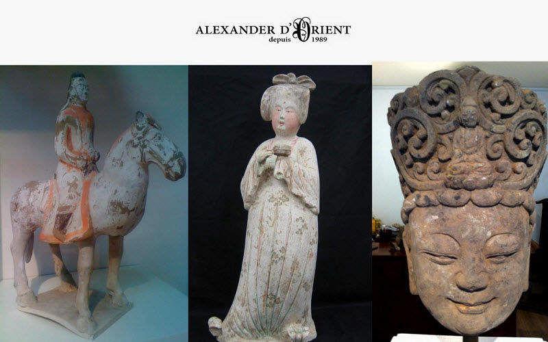 ALEXANDER D'ORIENT Kleine Statue Verschiedene Ziergegenstände Dekorative Gegenstände  |