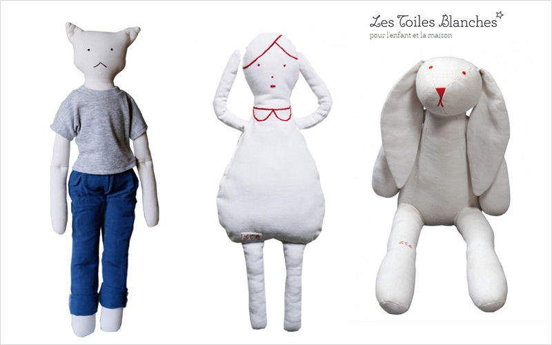 LES TOILES BLANCHES Puppe Puppen Spiele & Spielzeuge   