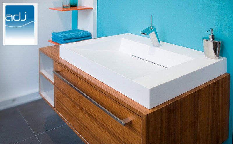 ADJ Waschbecken freistehend Waschbecken Bad Sanitär  |