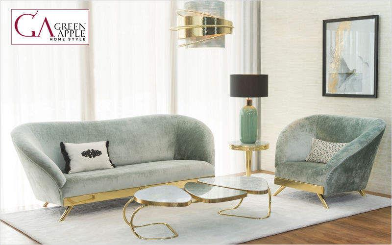 Green Apple Home style Sitzgruppe Couchgarnituren Sitze & Sofas  |