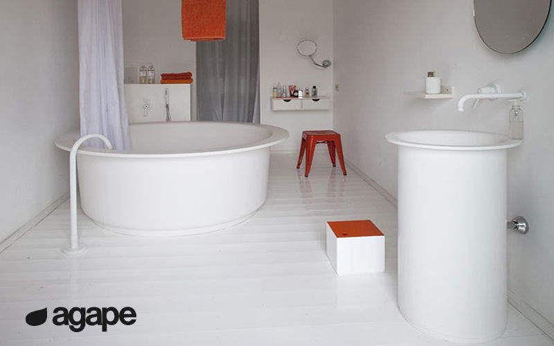 Agape Freistehende Badewanne Badewannen Bad Sanitär   