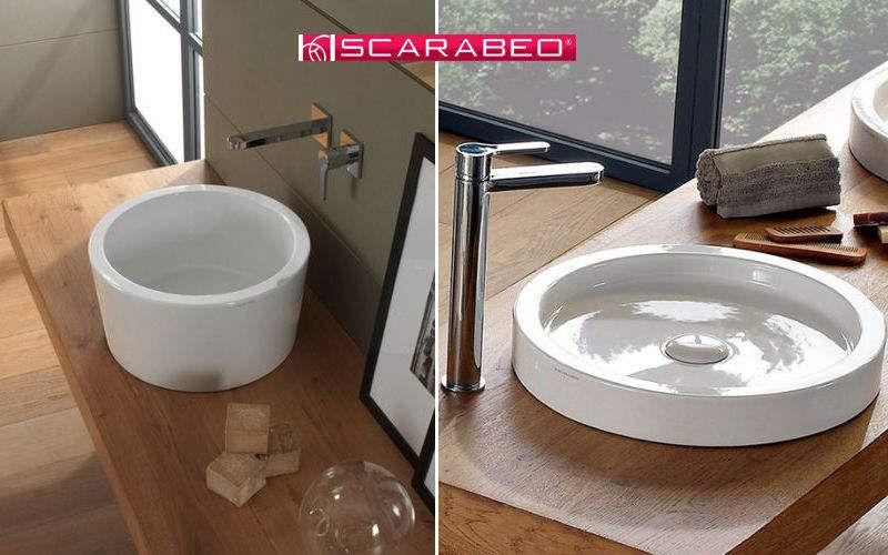 SCARABEO CERAMICHE Waschbecken freistehend Waschbecken Bad Sanitär  |
