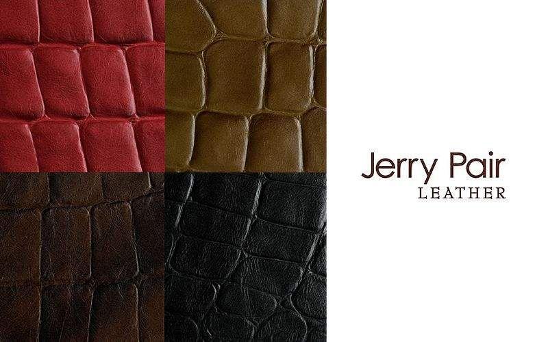 JERRY PAIR LEATHER Leder Möbelstoffe Stoffe & Vorhänge   