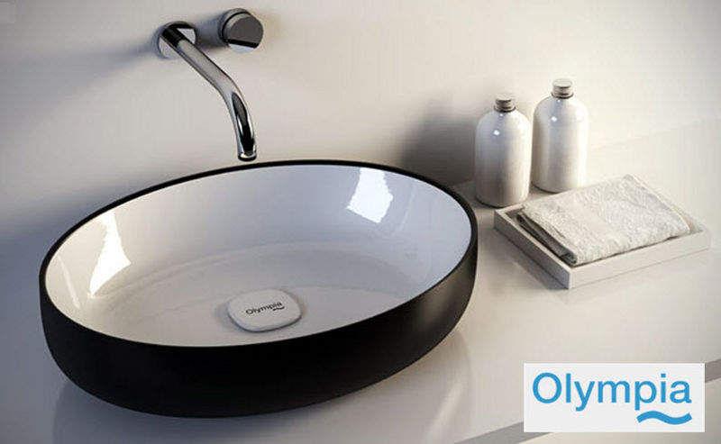 OLYMPIA Waschbecken freistehend Waschbecken Bad Sanitär  |
