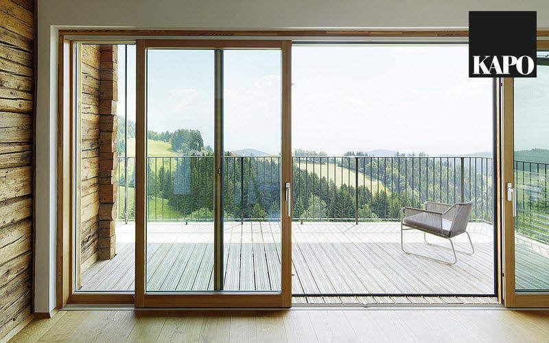 KAPO Schiebeglasfensterfront Balkon-/Terrassentüren Fenster & Türen  |