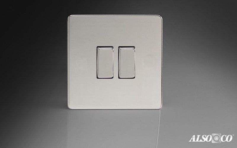 ALSO & CO Doppel-Schalter Elektroinstallation Innenbeleuchtung  |