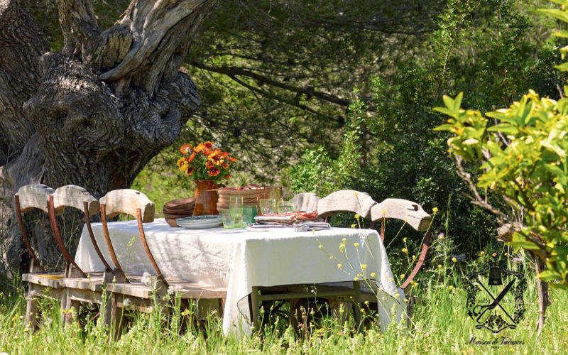 Maison De Vacances Rechteckige Tischdecke Tischdecken Tischwäsche  |