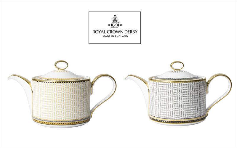 ROYAL CROWN DERBY Teekanne Kaffee- und Teekannen Geschirr  |