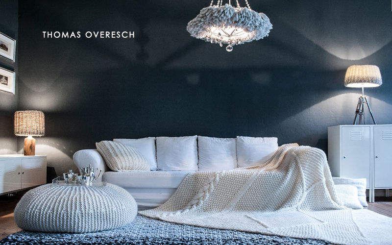 THOMAS OVERESCH BERLIN Plaid Bettdecken und Plaids Haushaltswäsche  |