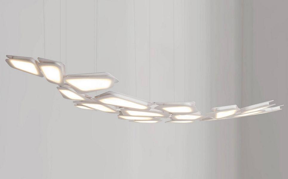 TRANSVERSO Deckenlampe Hängelampe Kronleuchter und Hängelampen Innenbeleuchtung  |