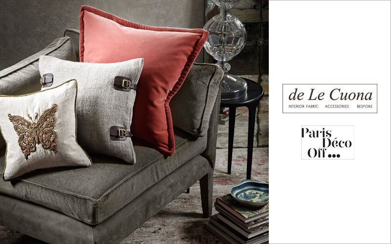 De Le Cuona Kissen quadratisch Kissen, Polster und Bezüge Haushaltswäsche  |