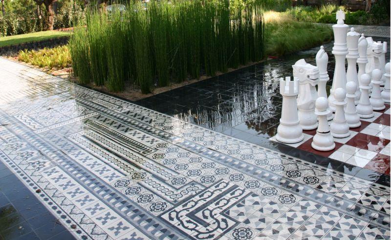 Carocim Mosaikfußboden Bodenfliesen Böden  |