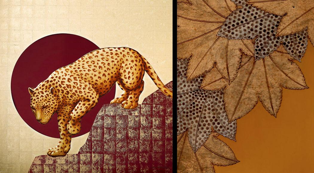 Atelier Anne Midavaine Zierpaneel Dekoration Schild Wände & Decken  |