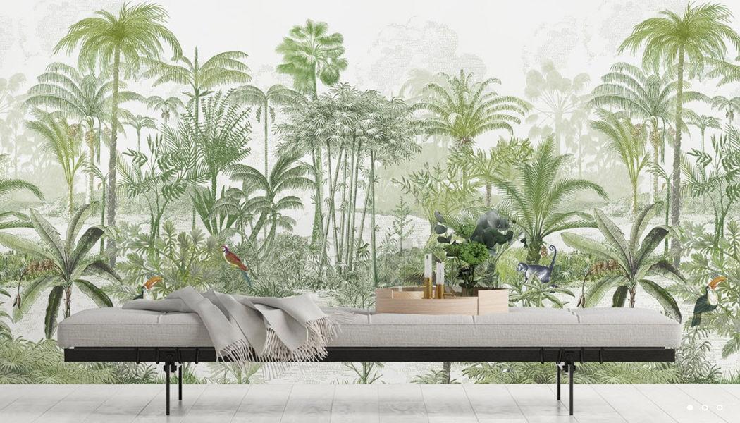ISIDORE LEROY Panoramatapete Tapeten Wände & Decken Wohnzimmer-Bar | Exotisch