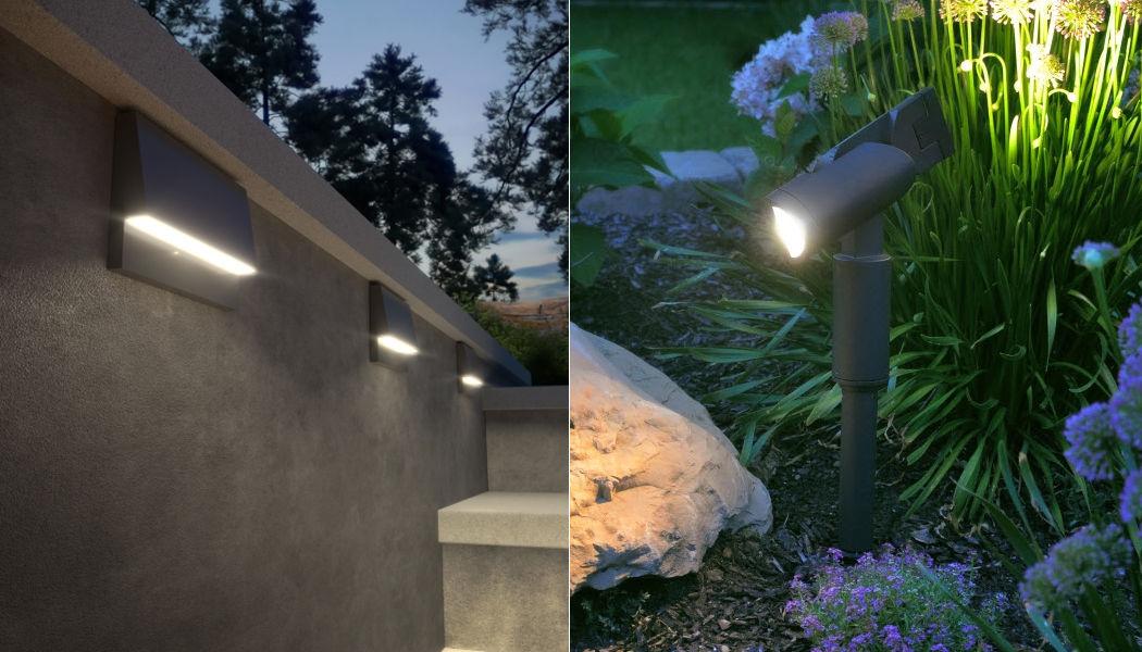 TECH LIGHTING Garten-Wandleuchte Aussen Wandleuchten Außenleuchten  |