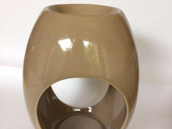 Drake - brûle parfum drake céramique beige - Räuchergefäß