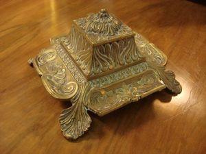 Serpentine Antiques -  - Tintenfass
