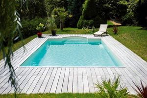 Mondial Piscines -  - Traditioneller Schwimmbad