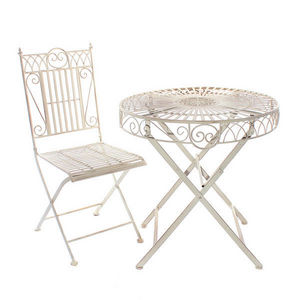 LONDON ORNAMENTS - montpelier bistro set - Runder Beistelltisch