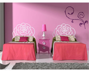 CRUZ CUENCA - rosa - Kinderbett Kopfende