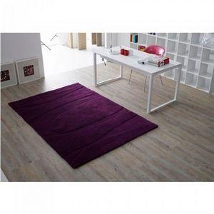LUSOTUFO - tapis contemporain nair prune - Moderner Teppich