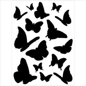 ALFRED CREATION - sticker velours - douce envolée - Gummiertes Papier