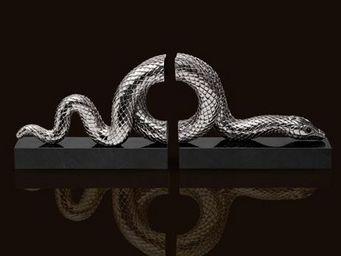 L'OBJET - snake platinium - Buchstütze