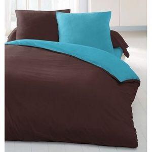 FASHION HOME - chocolat/turquoise - Bettwäsche