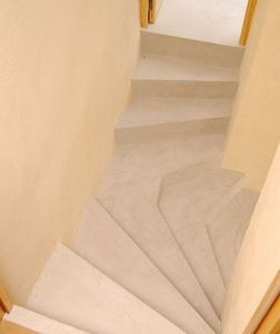 Rouviere Collection - escalier en béton ciré - Dekorativ Beton Für Böden