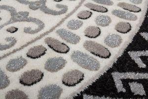 NAZAR - tapis empera 200x290 silver - Moderner Teppich
