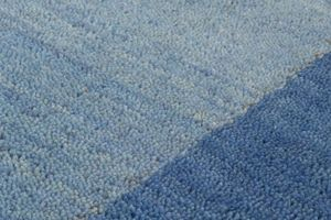 NAZAR - tapis gabbeh 70x230 blue - Moderner Teppich