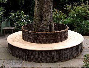 Brampton Willows -  - Garten Rundbank