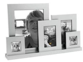 Present Time - cadre photo chromé - Fotorahmen