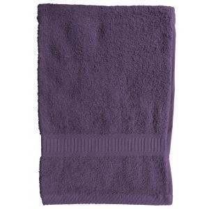 TODAY - serviette de toilette 50 x 90 cm - couleur - viole - Handtuch