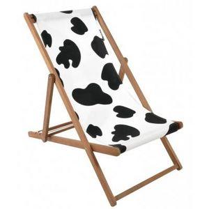 CODEVENT - chaise longue vache - Liegestuhl