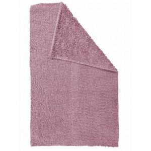 TODAY - tapis salle de bain reversible - couleur - rose - Badematte