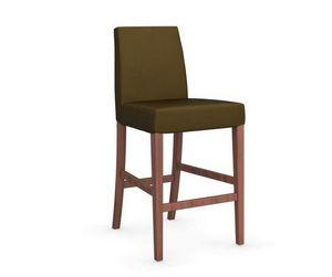 Calligaris - chaise de bar latina de calligaris vert olive et n - Barstuhl