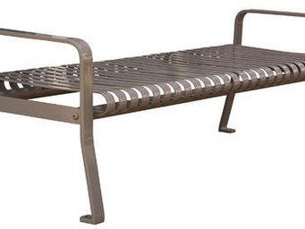 Maglin Site Furniture - mlb510b - Stadtbank