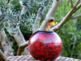 Amadera - lampe éthanol déco de table - Gartenleuchte
