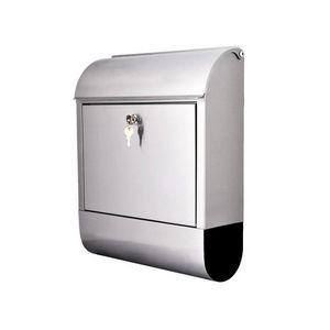 WHITE LABEL - boite aux lettres murale acier inoxydable - Briefkasten