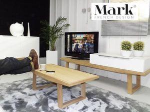 MARK -  - Rechteckiger Couchtisch
